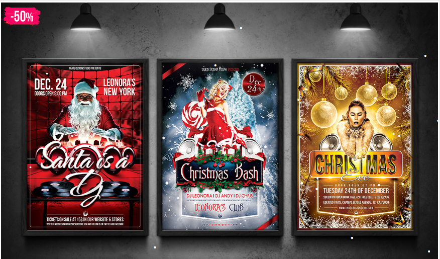 christmas flyer templates