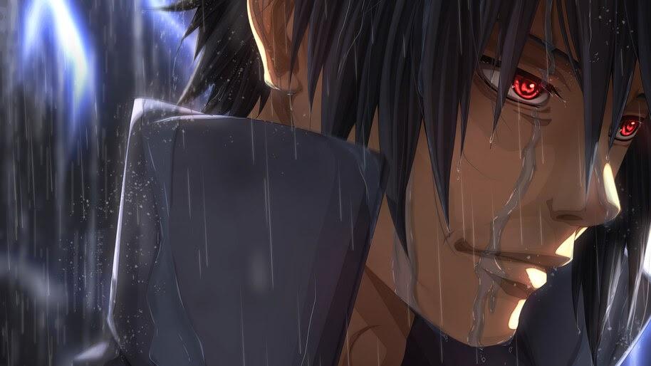 Sasuke, Sharingan, 4K, #6.433