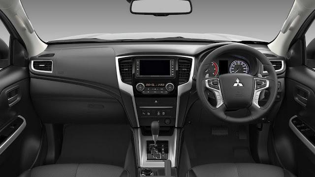 Interior Mitsubishi New Triton
