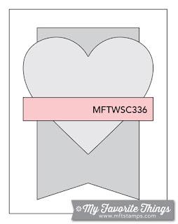 Sketch Challenge 336 #mftstamps