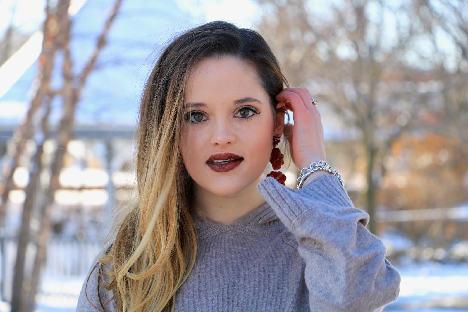 Nyc beauty blogger Kathleen Harper's winter makeup ideas
