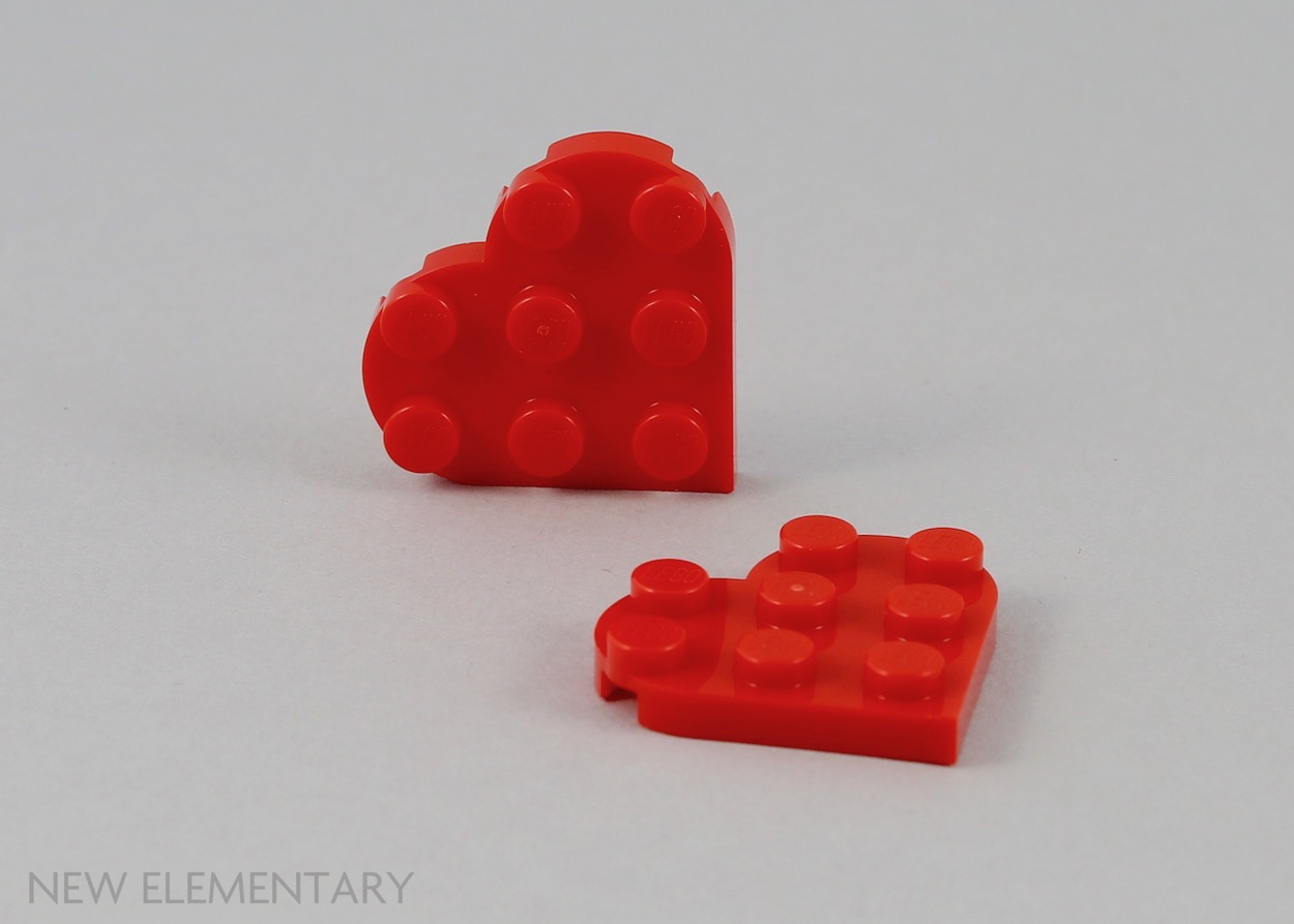 579 # Lego Tile-Tile Round 1x2 Dark Red 4 Piece