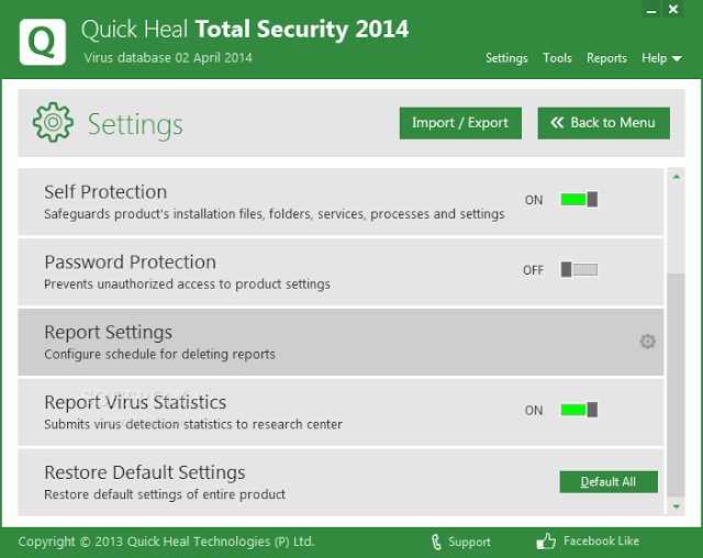 quick heal total security 2016 activation key