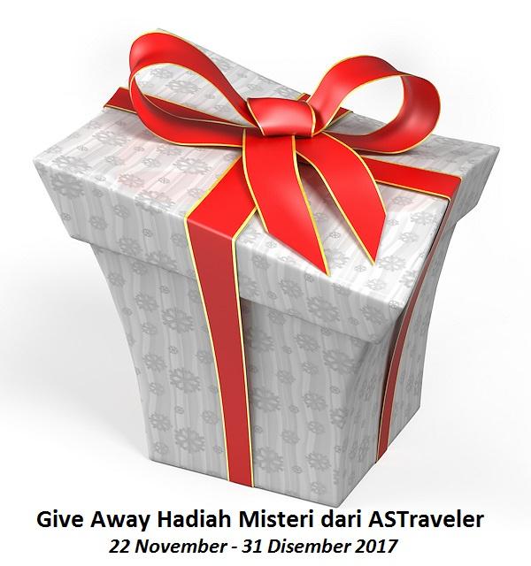 GIVE AWAY HADIAH MISTERI DARI ASTRAVELER