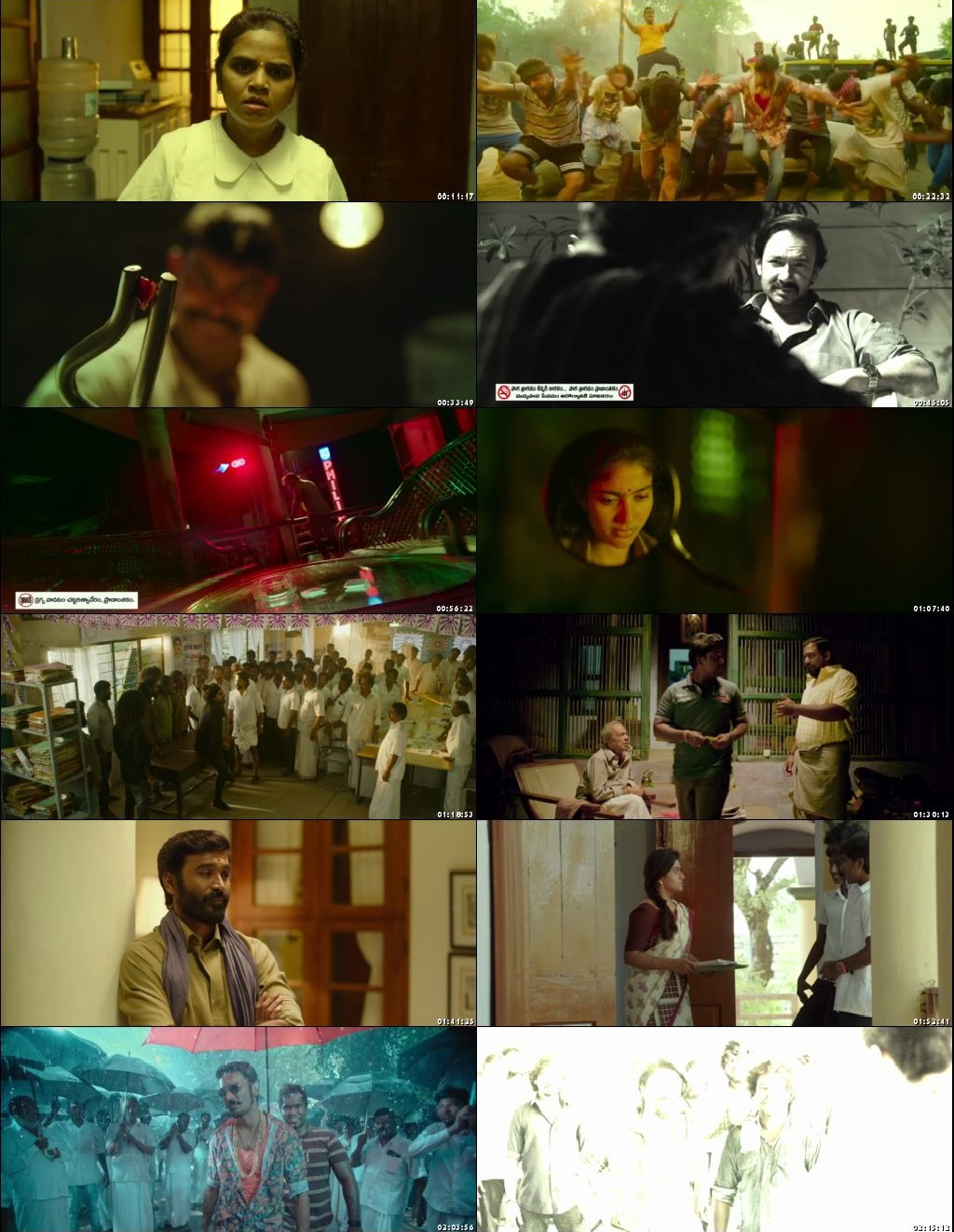 Screen Shot Of Maari 2 2018 300MB Full Movie Hindi Dubbed Free Download 480P BRRip Small Size PC Movie