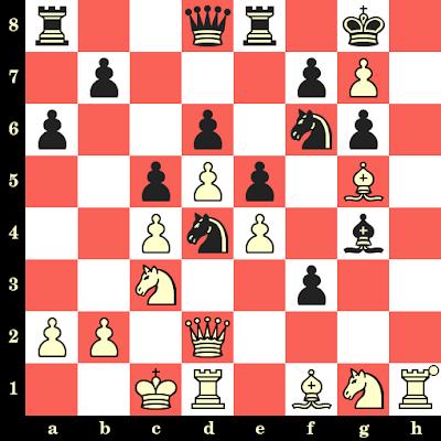 Les Blancs jouent et matent en 4 coups - Giuseppe Laco vs Giulio Lagumina, Milan, 1985