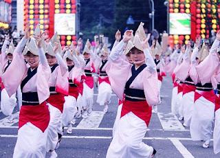 parade tari di jepang