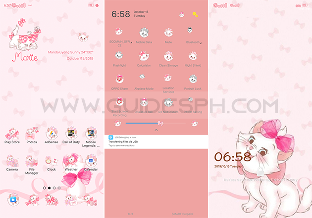 Oppo Theme: Kitty Marie Theme