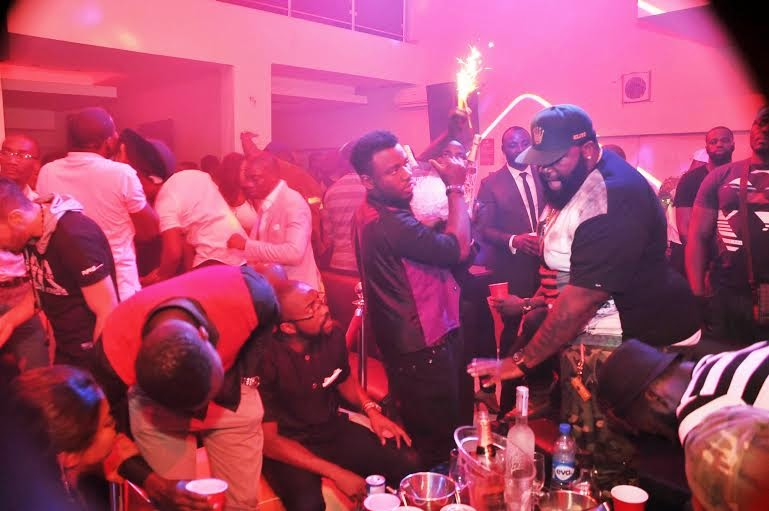 8 Photos: 2face, Wizkid, Sasha attend PREs 25th birthday party