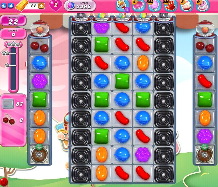 Candy Crush Saga level 2298