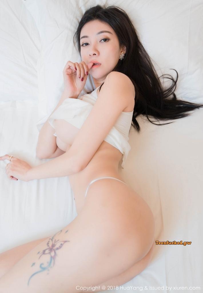 HuaYang 2018 10 23 Vol.090 Victoria Guo Er MrCong.com 020 wm - HuaYang Vol.090: Người mẫu Victoria (果儿) (43 ảnh)