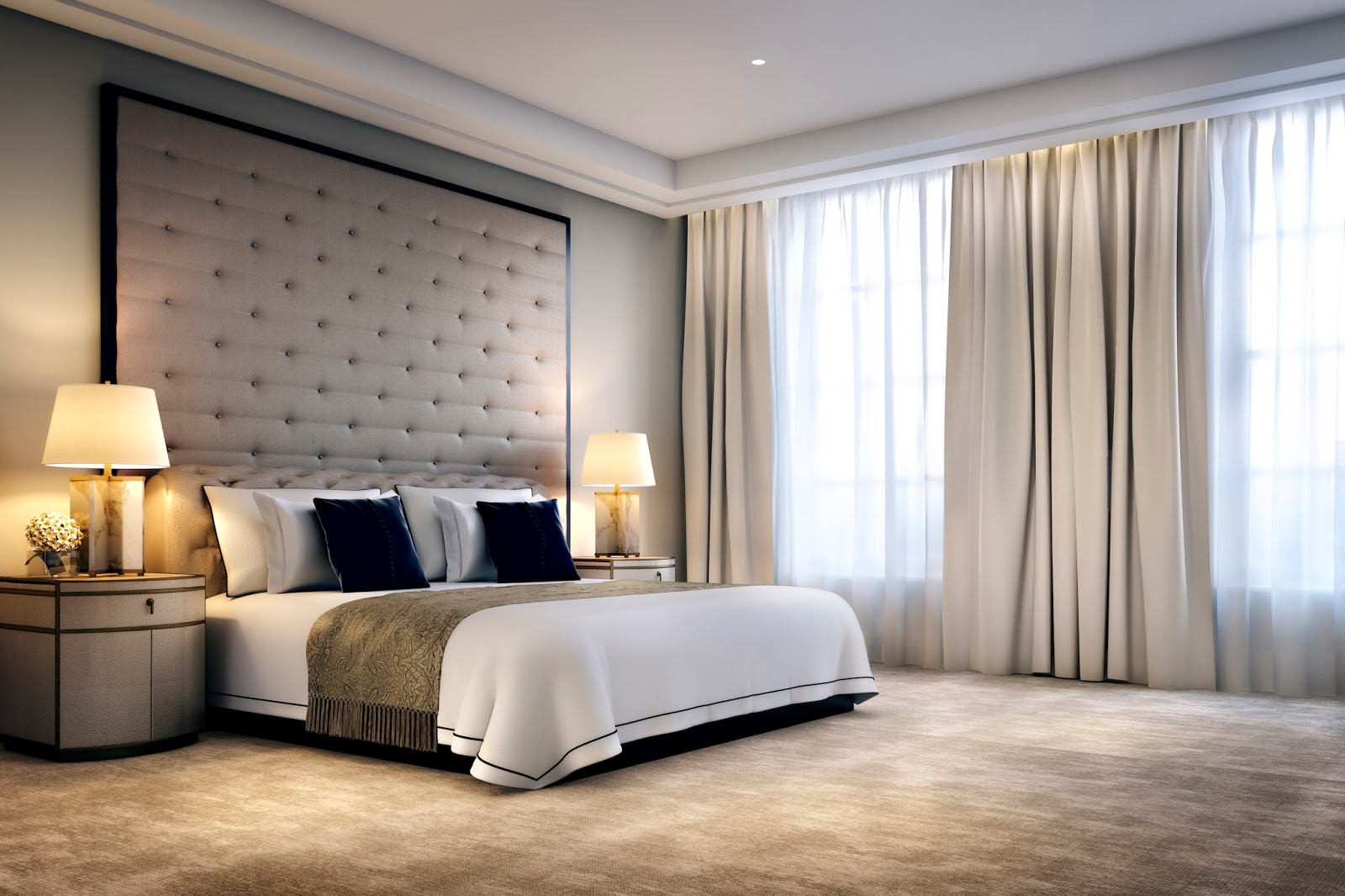 Luxury hotel suite in Four Seasons London Ten Trinity Square