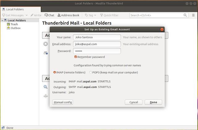 Cara Install Mail Server di Ubuntu 20.04