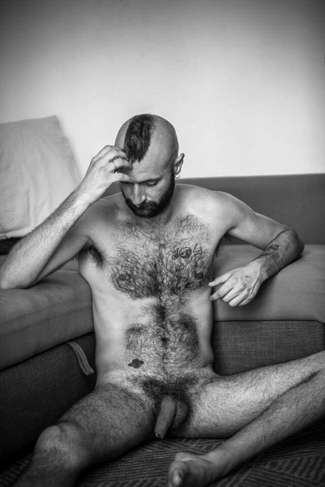 the NudE HairY MusE, by The Hairy Muse (NSFW).