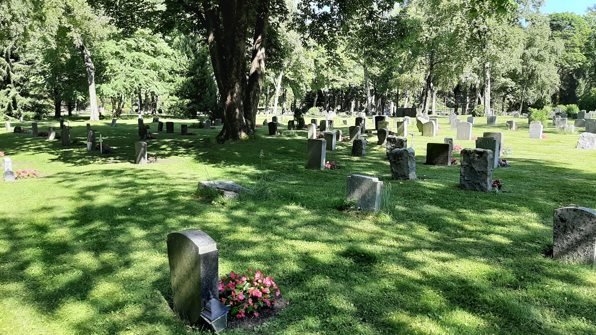 Nordre cemetery in Oslo