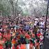 Multidão na Cachoeira: Confira fotos da folia no primeiro dia de Carnaval