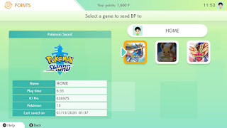 Pokémon HOME Battle Points