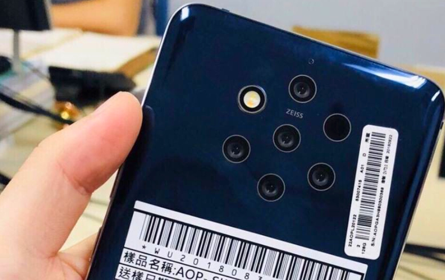 Nokia Five Cameras, Nokia 9