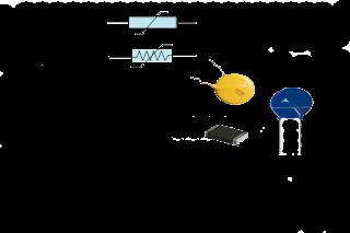 Voltage dependant resistor