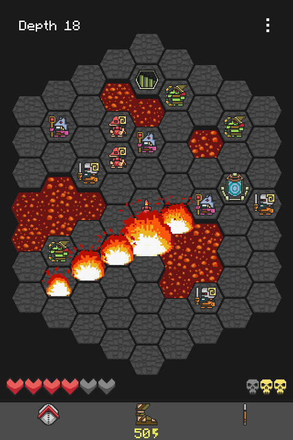 Hoplite - ios and android screenshot