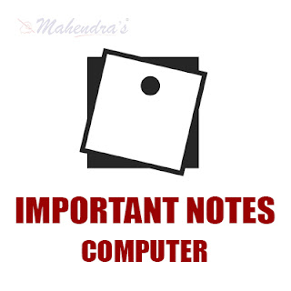 Important Notes : Software