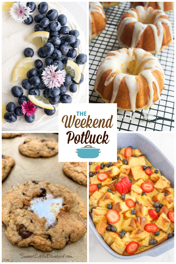 A virtual recipe swap with Lemon Cornmeal Cake with Blueberries, Mini Orange Bundt Cakes, Anastasia's S'mores Cookies, Brioche French Toast Casserole and dozens more!