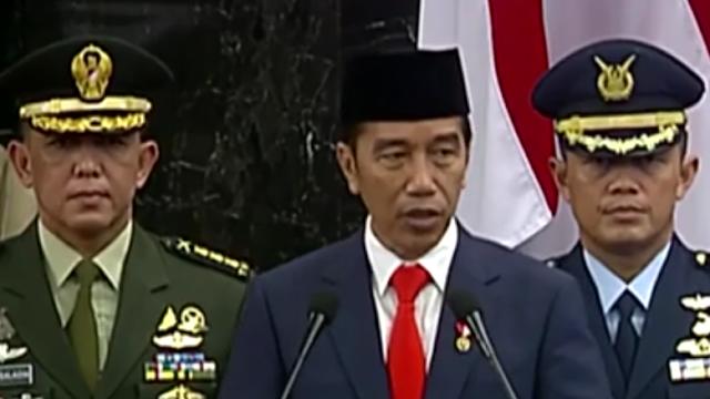 Pidato Perdana Jokowi Ini 5 Poin Prioritas 5 Tahun Kedepan
