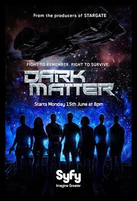 dark matter serial recenzja plakat syfy