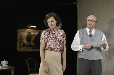 Nancy Carroll and Roger Allam in David Hare's 'The Moderate Soprano'