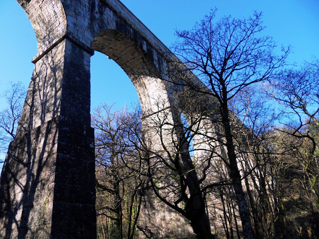 Aquaduct and Viaduct at Luxulyan Valley, Cornwall