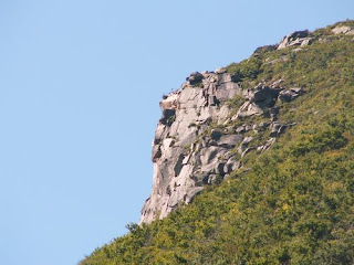Where once there was a CRAG that looked like a GRANITE face