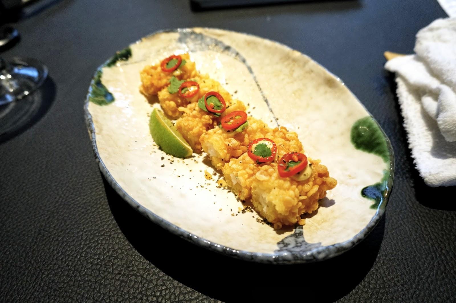 Sticks 'n' Sushi starters
