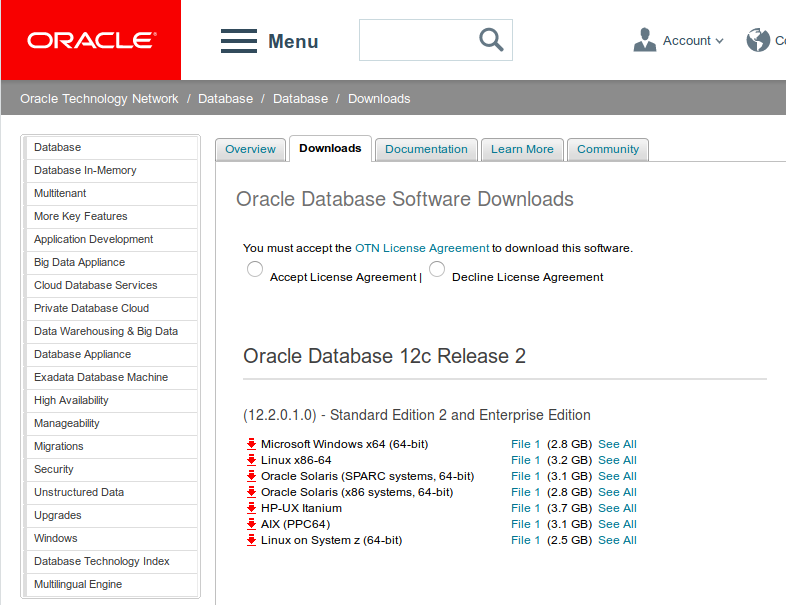 Run like Hell: Oracle Database 18c released! Image-based Installation?