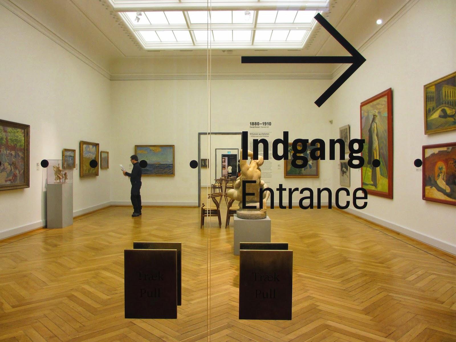 Galeria Nacional da Dinamarca em Copenhaga - Statens Museum for Kunst | Dinamarca
