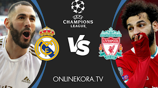 Watch the Real Madrid and Liverpool match broadcast live today 06-04-2021 in the UEFA Champions League