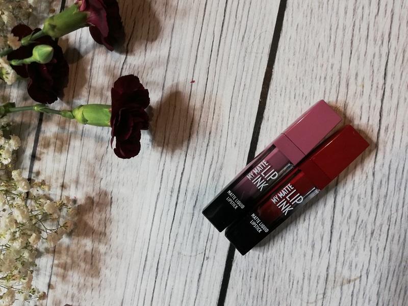 Golden Rose My Matte Lip Ink matowe pomadki w płynie