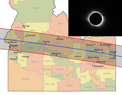 Idaho Solar Eclipse Tour 2017
