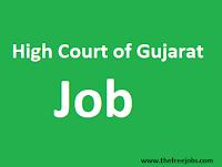 Gujarat High Court Recruitment District Judge (HC OJAS)