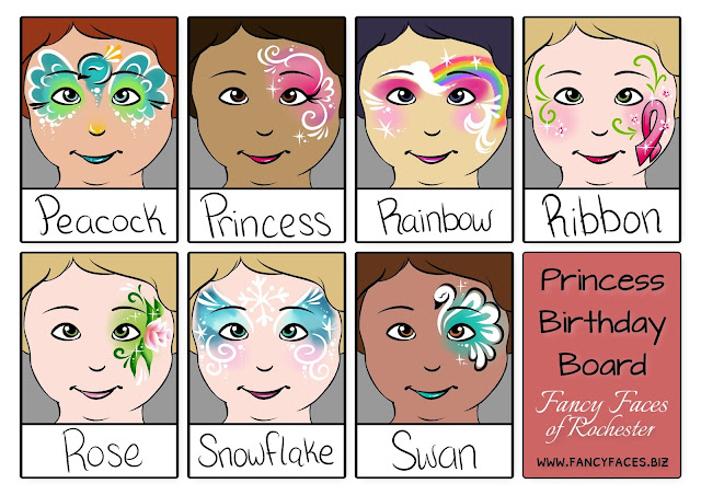 More face painting designs girls will love for birthday parties