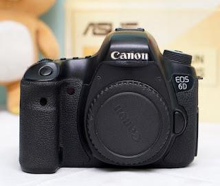 Canon 6D Bekas ( Body )