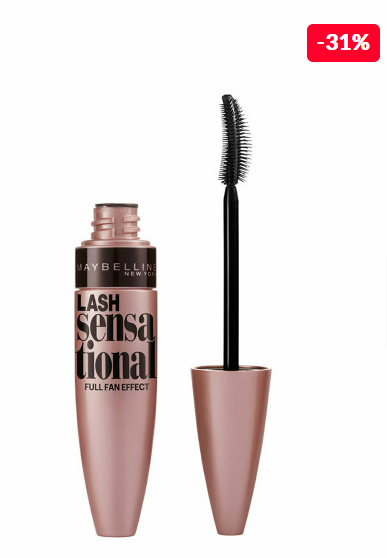 Maybelline Lash Sensational Black, 9.5 ml