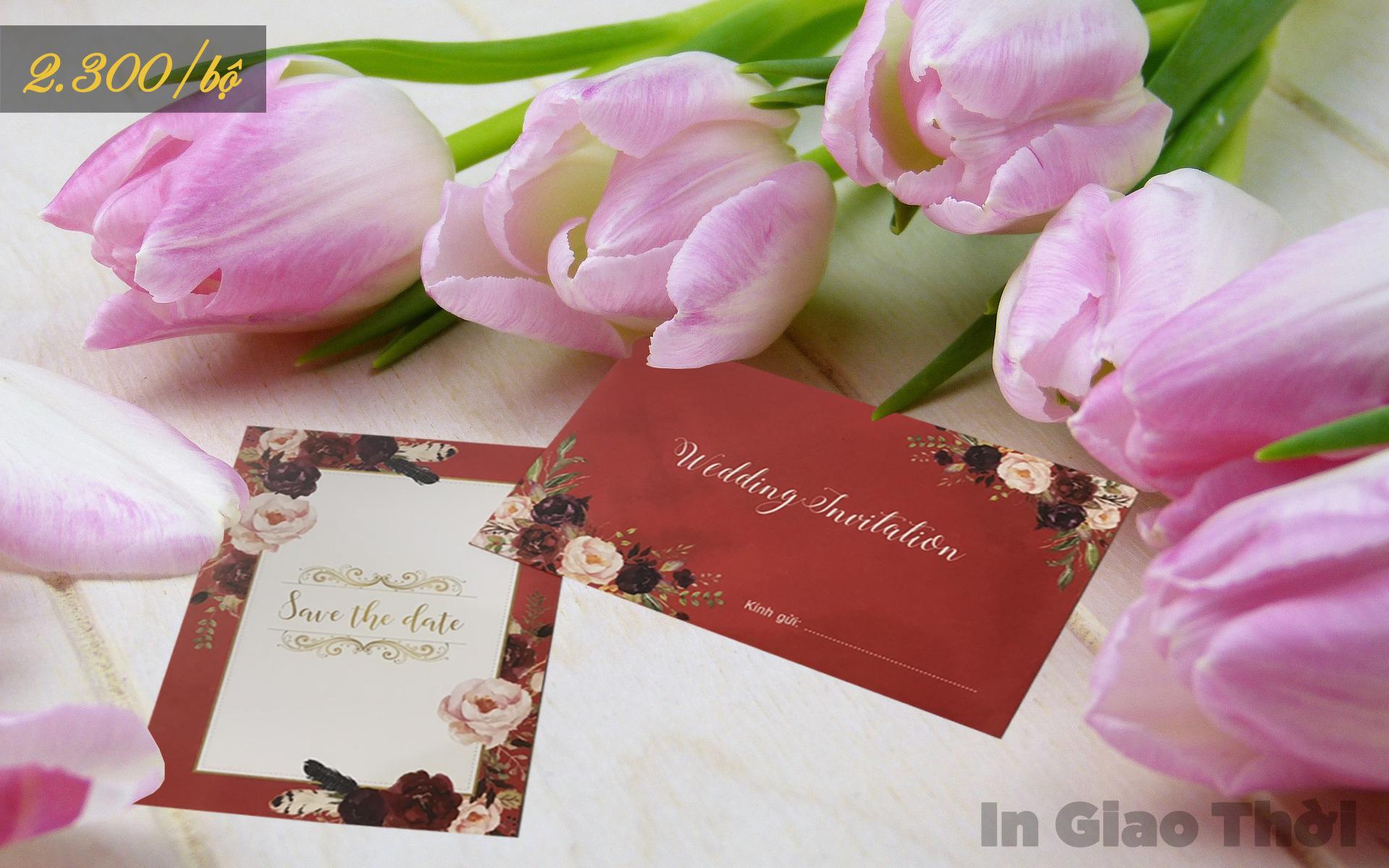in thiệp cưới đẹp tại Đà Nẵng