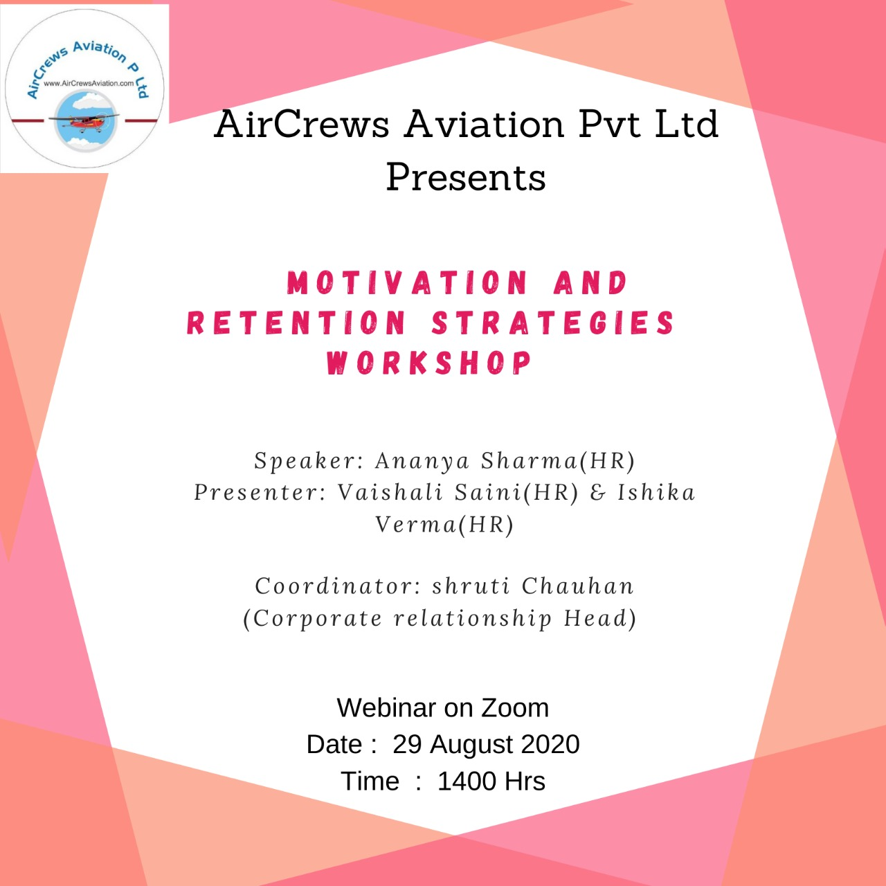 Aerosoft Corp Motivation And Retention