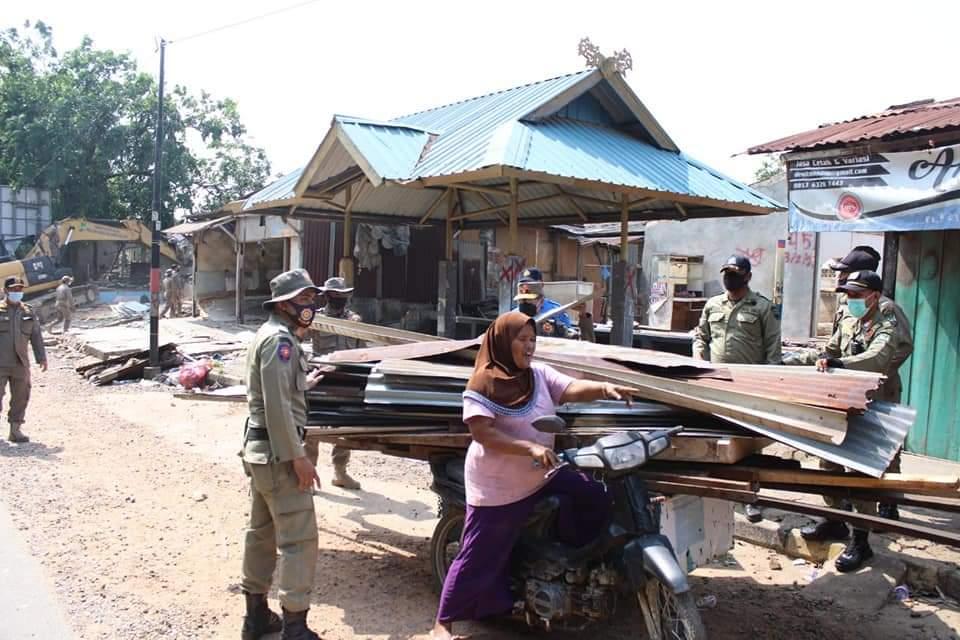 Dukung Pelebaran Jalann, Pemilik 165 Kios dan Rumah di Simpang Barelang Mulai Pindah