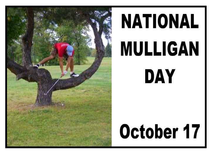 National Mulligan Day Wishes Images