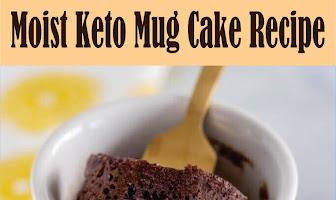Moist Keto Mug Cake Recipe