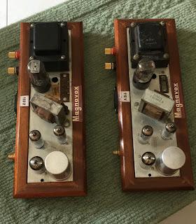 Magnavox 6AQ5 push pull tube mono blocks  Mag%2B6aq5%2B3
