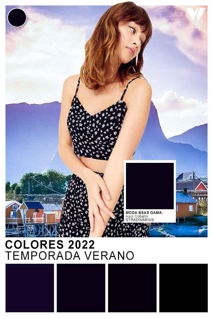 negro color de moda clasico verano 2022