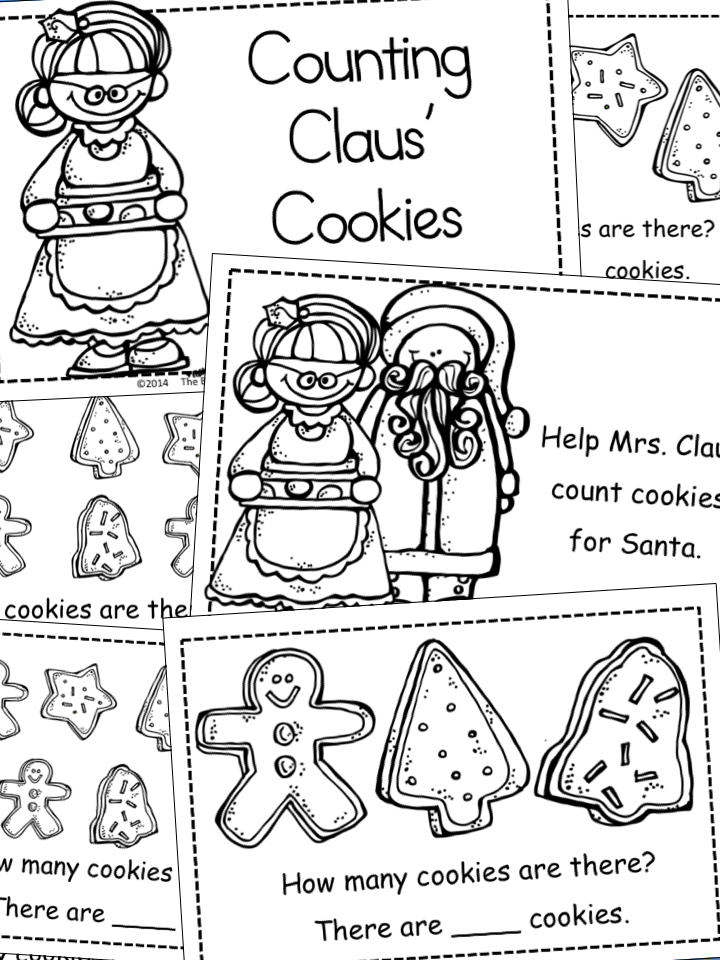 The Barefoot Teacher: Mrs. Claus' Cookies are here!