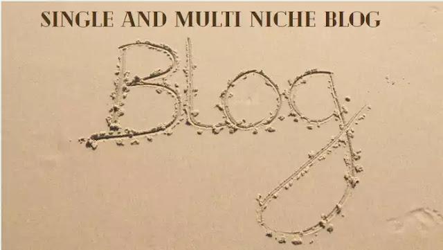 Single and Multi Niche Blog